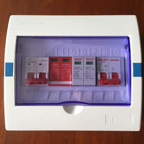 Tủ an toàn điện Mặt trời 3Kw