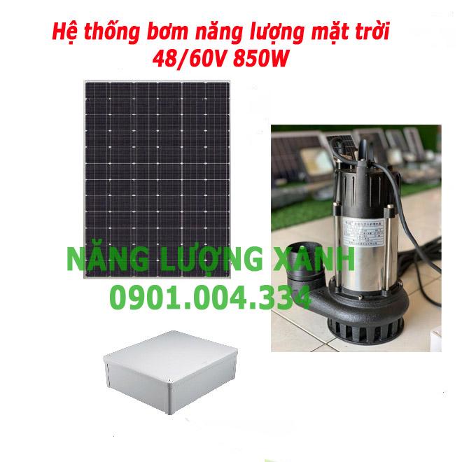 Hệ thống bơm chìm Năng lượng mặt trời 48V 60V 850W - Hệ thống bơm chìm Năng lượng mặt trời 48V 60V 850W