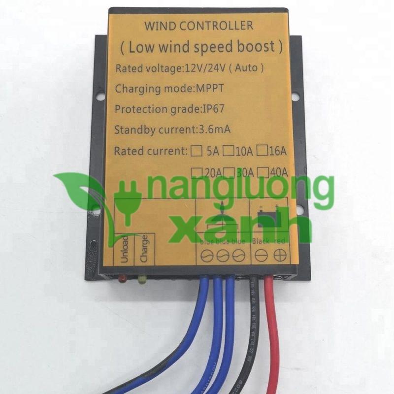 dk sac gio MPPT 24V 1000W1 - Bộ điều khiển sạc gió MPPT 24V 1000W