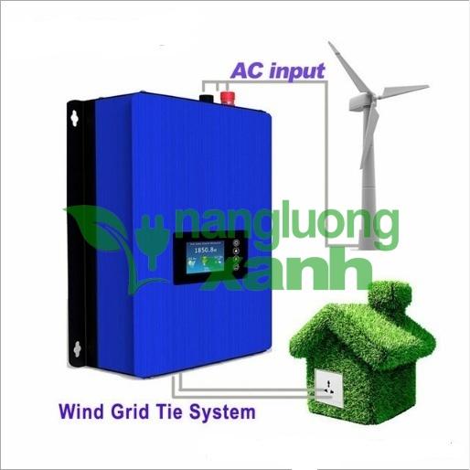 hoa luoi gio1 - Inverter hòa lưới gió 1Kw
