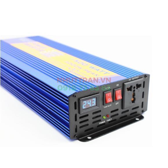 Máy kích điện Inverter sine chuẩn 12V 1000W