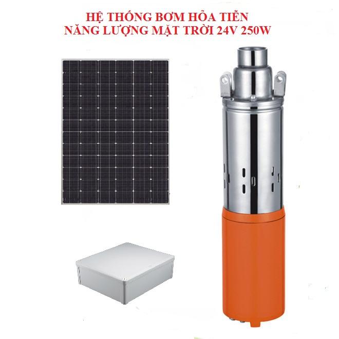 nhuttran162 - Hệ thống bơm hỏa tiễn Năng lượng Mặt trời 24V 250W