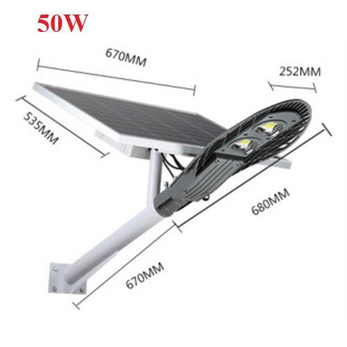 nhuttran168 - Đèn đường chiếc lá năng lượng mặt trời 50W