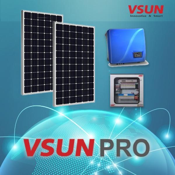 nhuttran200 - Hệ thống hòa lưới điện mặt trời Mono 10Kw VSUN