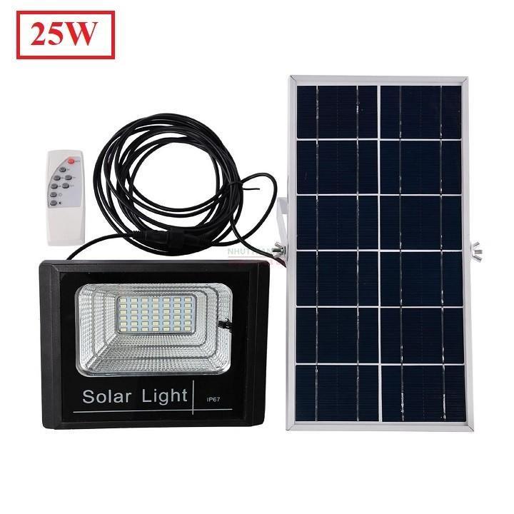 nhuttran45 - Đèn led 25W Năng lượng mặt trời