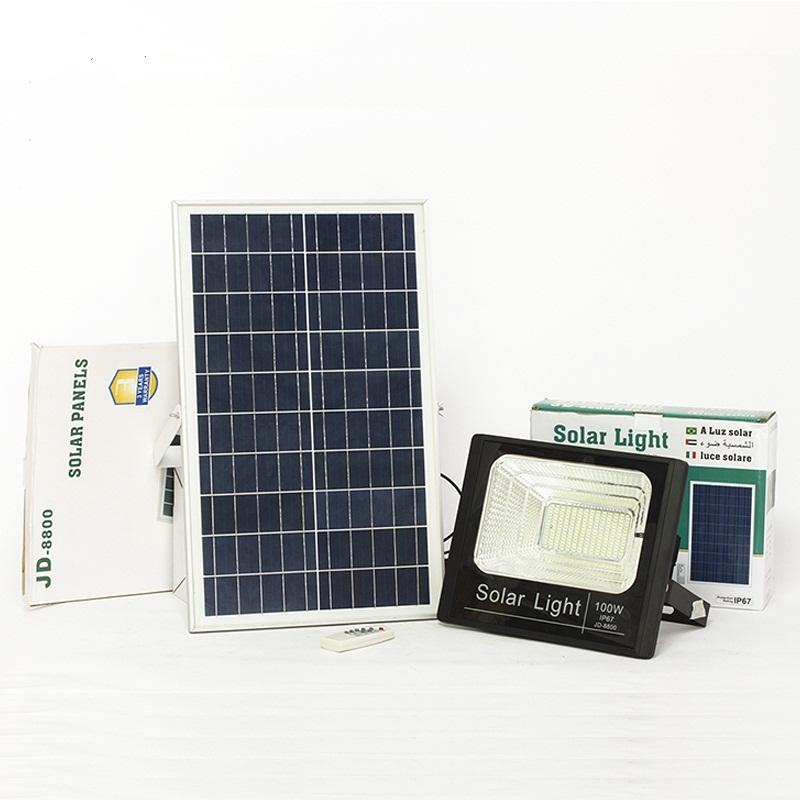 nhuttran48 - Đèn led 100W Năng Lượng Mặt Trời