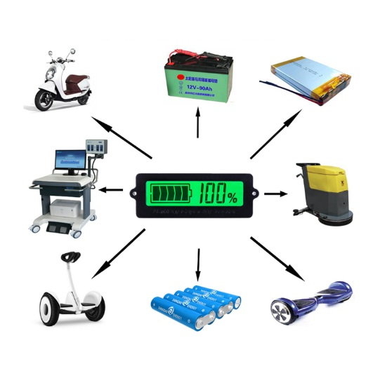 nhuttran57 - Đồng hồ đo dung lượng pin