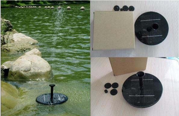 nhuttran75 - Đài phun nước mini Năng lượng Mặt trời