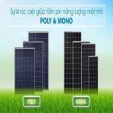 phan biet pin nang luong mat troi mono va poly 280x280 - Làm sao để phân biệt pin mặt trời mono và poly?