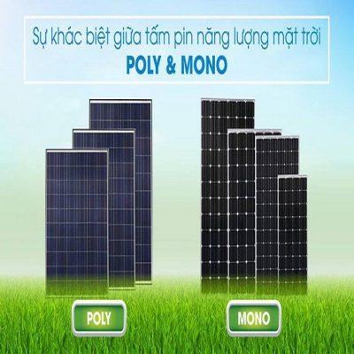 phan biet pin nang luong mat troi mono va poly 400x400 - Làm sao để phân biệt pin mặt trời mono và poly?