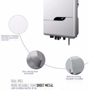 Inverter hoa luoi Senergy 36Kw SE3K6TL S12 - Inverter hòa lưới Senergy 3,6Kw SE3K6TL-S1