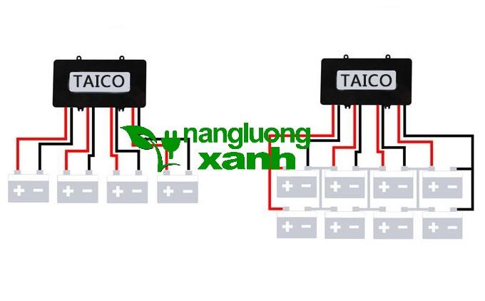 taico48v 2 - Bộ cân bằng acquy 48V Taico