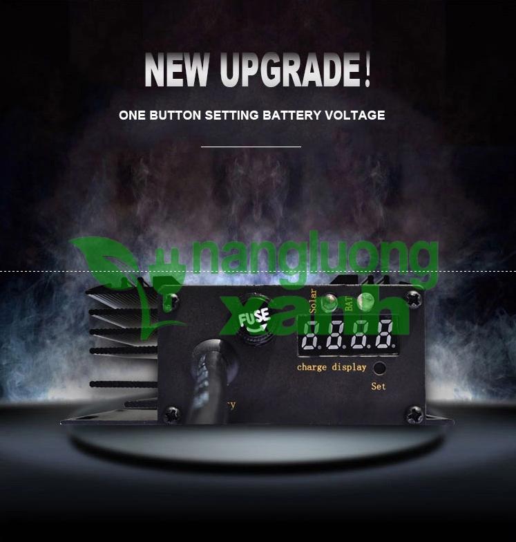 New0014 - Sạc Năng Lượng Mặt Trời Cho Xe Điện MPPT 48V 60V 72V JNGE JN-EVS