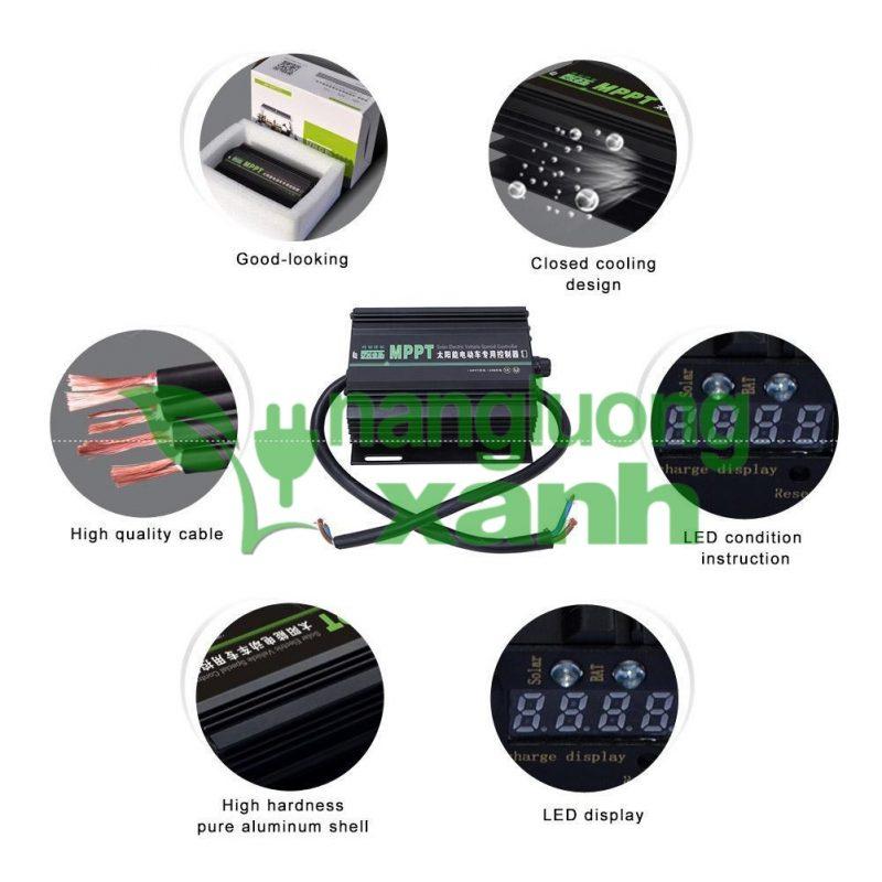New0015 800x800 - Sạc Năng Lượng Mặt Trời Cho Xe Điện MPPT 48V 60V 72V JNGE JN-EVS
