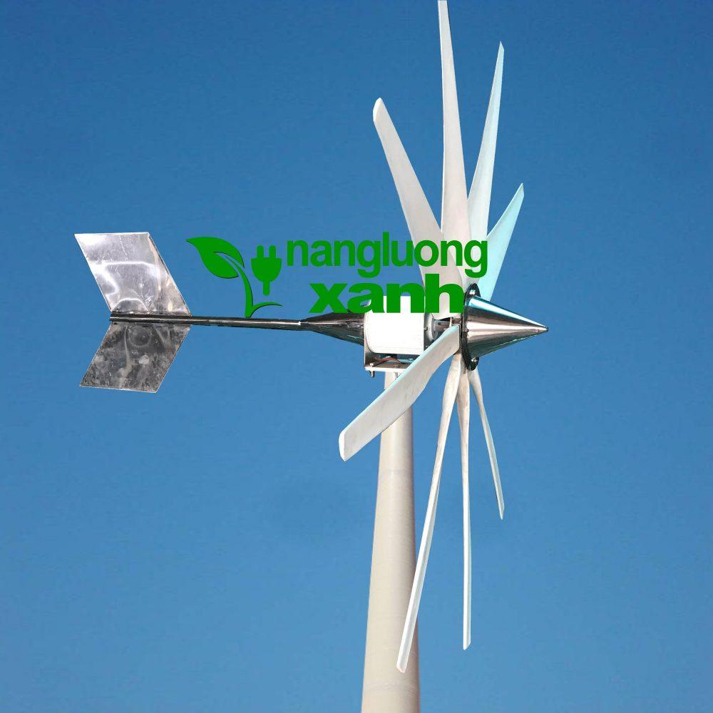 2 1 1000x1000 - Tuabin gió 2Kw trục ngang, thân inox, cánh composit 9 cánh