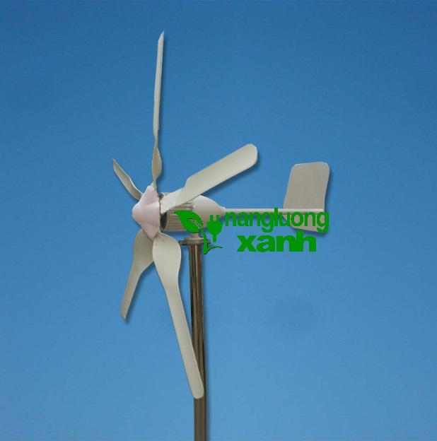 1 1 - Tuabin gió 2000W trục ngang, 5 cánh HTC-2K