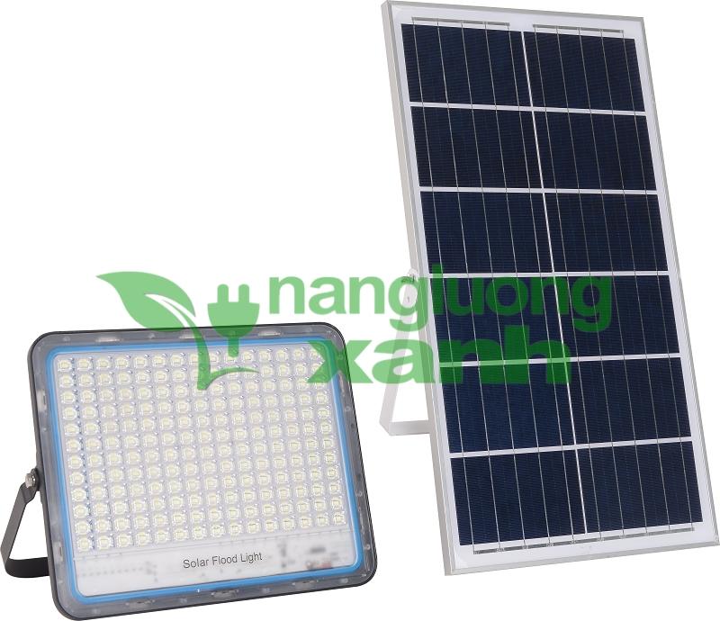 VK600 20 1 - Đèn chiếu sáng năng lượng mặt trời VK600D