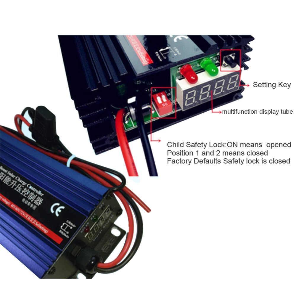 bo sac xe dien nang luong mat troi mppt 600w 48v60v72v1 - Bộ sạc xe điện Năng lượng Mặt trời MPPT 600W 48V/60V/72V