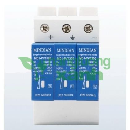 midian 3p1 - Chống sét DC 1300V 40KA 3 pha Mindian
