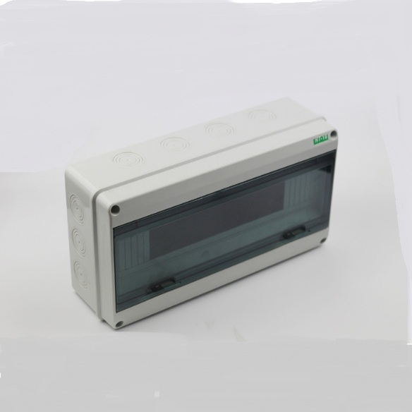 tu nhua 14 18 tép - Tủ điện nhựa ABS 14-18 tép
